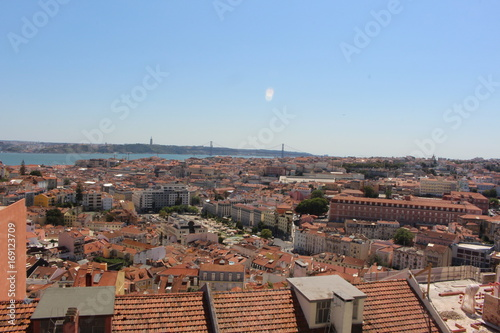 Photo  Panorama Lissabon