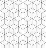Hexagonal trendy hipster geometric vector pattern - 169136909
