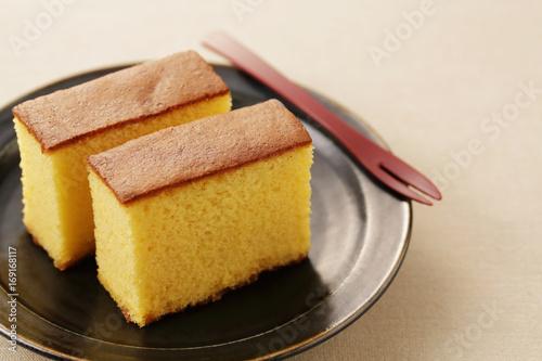 Fotomural  カステラ Japanese sponge cake