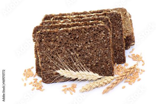 Fotografie, Obraz Brot Ähren