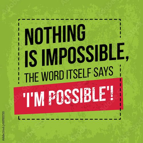 Fotografía  Motivational quote