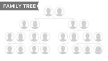 Genealogical Tree Template Vec...