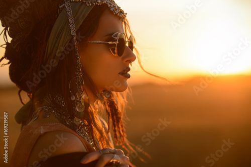 Cadres-photo bureau Gypsy spirit of desert