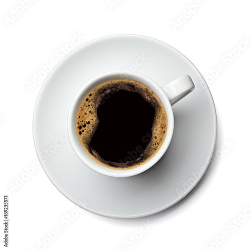 Foto op Canvas Cafe coffee cup drink espresso cafe mug cappuccino