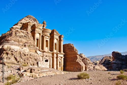 Obraz na plátně El Deir Petra