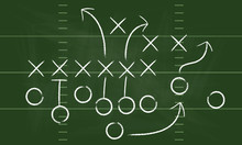 Vector Football Play. Football...
