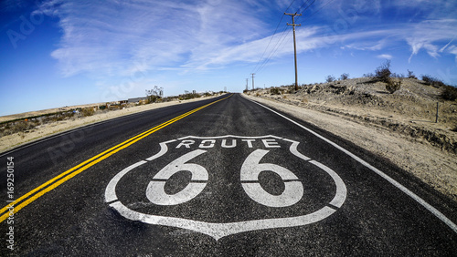 Papiers peints Route 66 Route 66 Stock Image