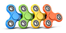 Color Fidget Spinners Stress R...