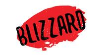 Blizzard Rubber Stamp. Grunge ...