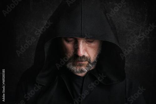 Fotografie, Tablou hombre misterioso en halloween