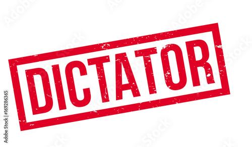 Fotografie, Obraz Dictator rubber stamp
