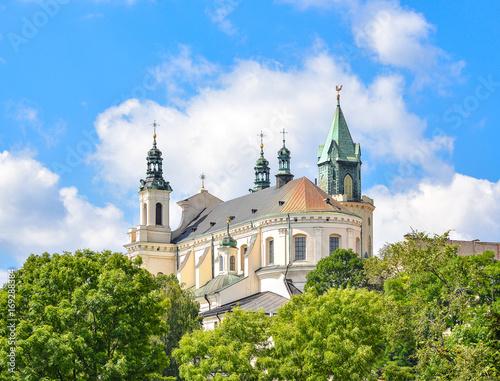 Obraz Metropolitalna katedra św. Jana Chrzciciela w Lublinie - fototapety do salonu