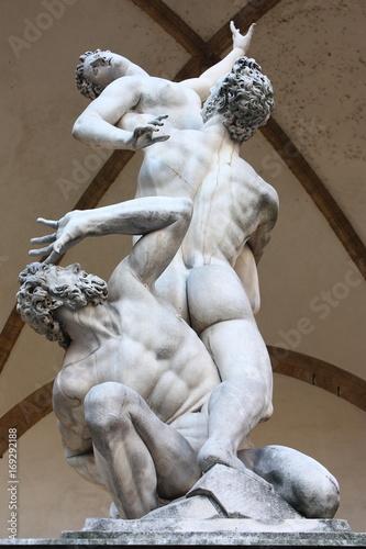 Fotografie, Obraz  Loggia della Signoria Firenze