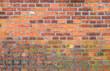 Mauer Alt Backstein Ziegelstein Hintergrund Textur