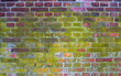 Old brick wall grunge vintage background texture