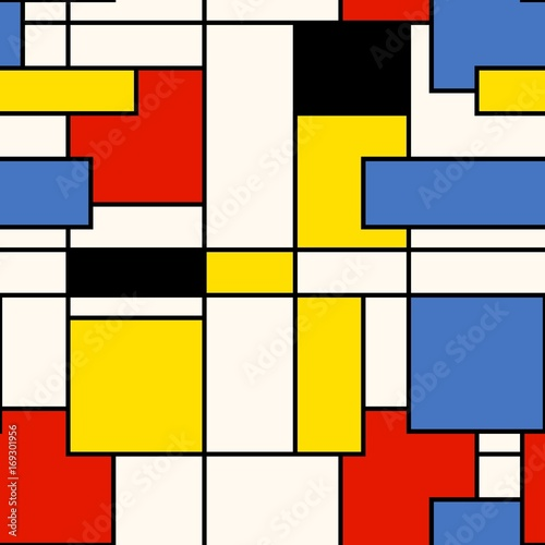 Obrazy styl bauhaus kwadraty-w-stylu-bauhaus