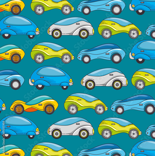 Futuristic Car Background Of Transportation Vehicle And Automobile