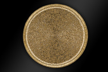 Arabic And Indian Round Gold H...