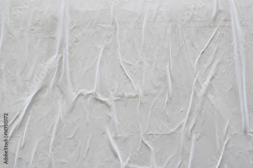 blank poster texture creased and wrinkled paper buy this stock