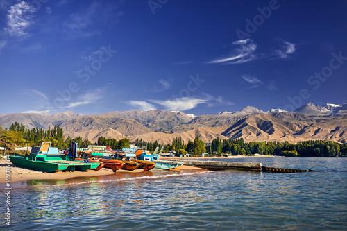 Photo Issyk Kul Lake