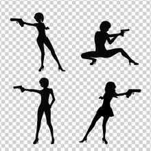 Shooting Girl Image