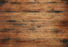 Old Aged Brown Wooden Planks B...