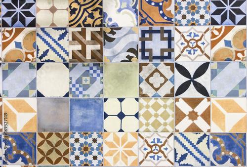 Foto  portuguese azulejo tiles