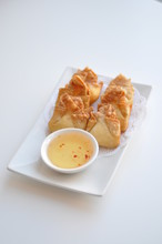 Crab Rangoon. Cream Cheese, Cr...