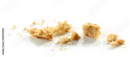 Foto op Plexiglas Koekjes crumbs of cookie macro