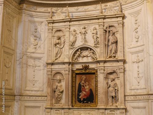 Plakat Madonna z Dzieciątkiem Jezus