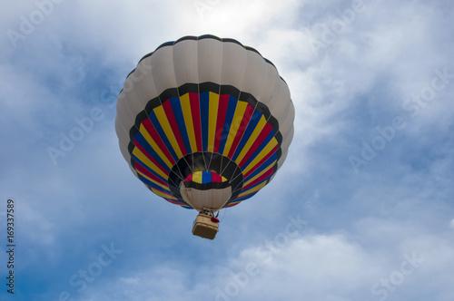 Photo Hot Air Balloon on the Sky