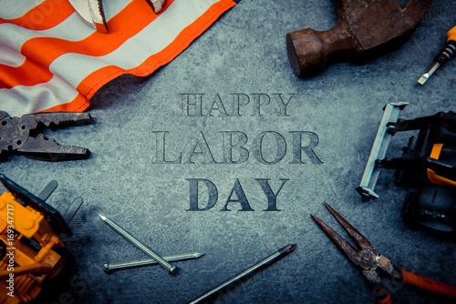 Valokuva  Happy Labor day