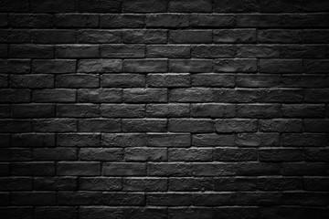 Fototapeta Dark brick wall