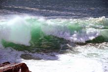 Surf On Ocean Drive, Acadia Na...