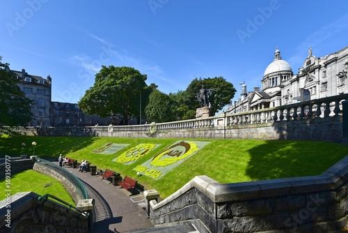 Aberdeen - Union Terrace Garden Canvas Print