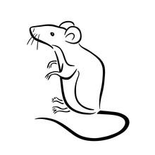 Simple Mouse Symbol