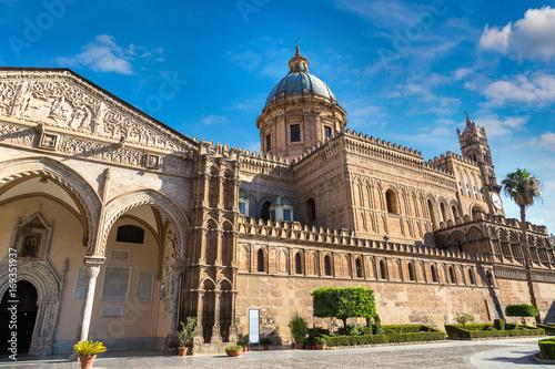 Foto op Plexiglas Palermo Palermo Cathedral in Palermo