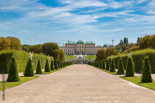 Wall Murals Melon Belvedere Palace in Vienna, Austria