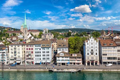Foto op Aluminium Rome Panoramic view of Zurich