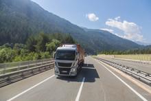Asphalt Road In Austria