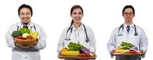 Portrait Of Three Asian Doctor...