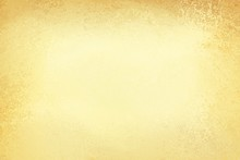 Pale Gold Background With Beige Or Cream Center And Old Brown Border In Vintage Distressed Texture Design