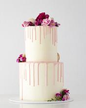 2 Tiered White Cake