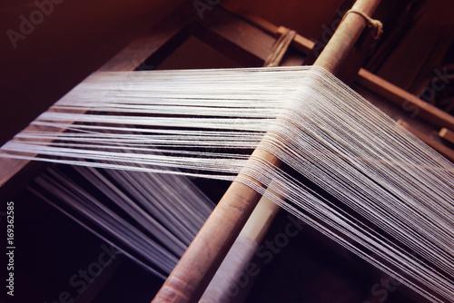 Fotobehang Stof 織物