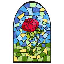 Stainedglass Rose