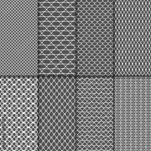Fotografía Cloth seamless patterns