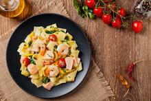 Traditional Italian Fettuccini...