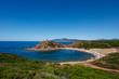 Beach and tower of Porticciolo, Cala Porticciolo, Sardaigne