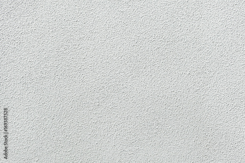 Tuinposter Stof White painted stucco wall.
