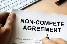 Man Is Signing Non Compete Agr...